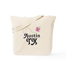 Pretty Austin Texas Tote Bag