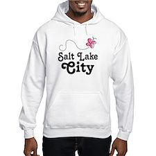 Pretty Salt Lake City Utah Hoodie