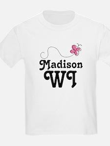 Pretty Madison Wisconsin T-Shirt
