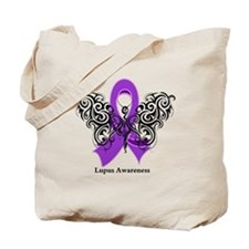 Lupus Tribal Butterfly Tote Bag
