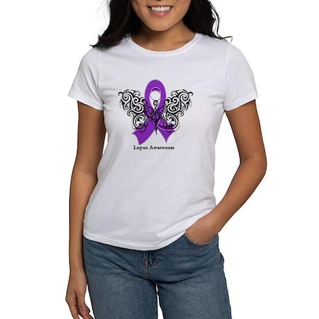 Lupus Tribal Butterfly Women's T-Shirt