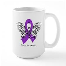 Lupus Tribal Butterfly Mug