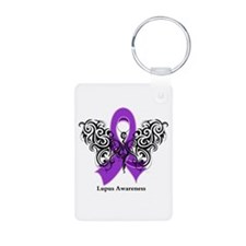 Lupus Tribal Butterfly Keychains