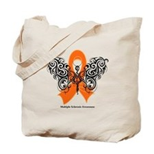 Multiple Sclerosis Tribal Tote Bag