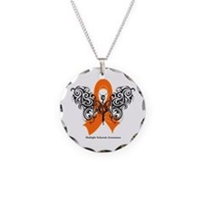Multiple Sclerosis Tribal Necklace Circle Charm