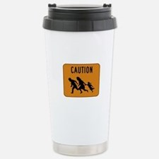 Immigrant Crossing Sign Travel Mug