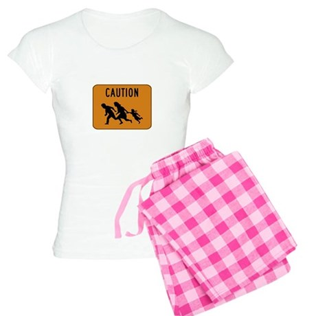 Immigrant Crossing Sign Women's Light Pajamas
