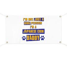 Japanese chin Daddy Banner
