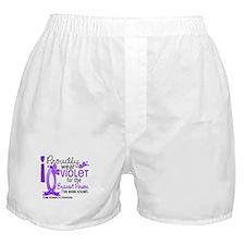 Bravest I Know Hodgkin's Lymphoma Boxer Shorts