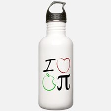 I Love Apple Pi Water Bottle