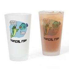 Topical Fish Pint Glass