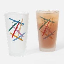 Colorful Bassoons Pint Glass
