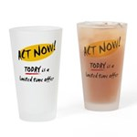 Act Now - Pint Glass