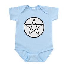 Star Pentacle Inside Circle Infant Bodysuit