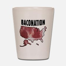 Baconation Shot Glass