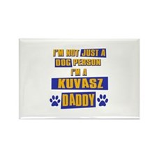American Eskimo Daddy Rectangle Magnet (10 pack)