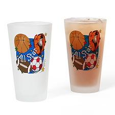 All Star Sports Pint Glass