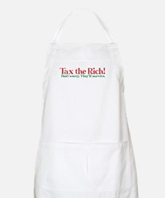 Tax the Filthy Rich Apron