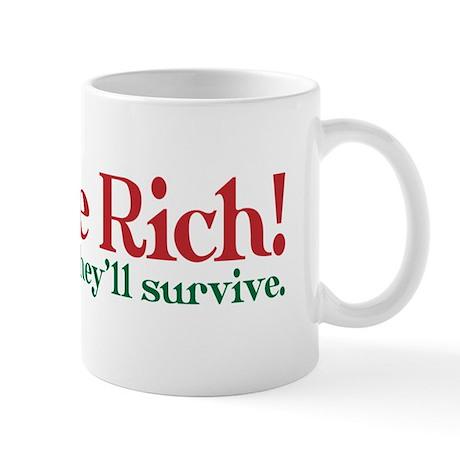 Tax the Filthy Rich Mug
