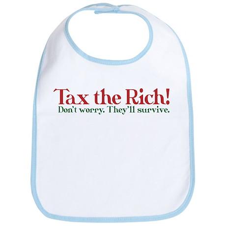 Tax the Filthy Rich Bib