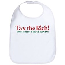 Tax the Filthy Rich Bib