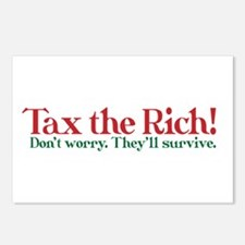 Tax the Filthy Rich Postcards (Package of 8)