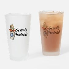 Sexually Frustrated Pint Glass