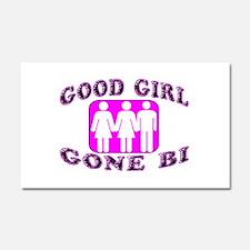 Good Girl Gone Bi Car Magnet 12 x 20