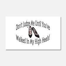 High Heels Car Magnet 12 x 20