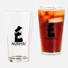 Nunya Pint Glass