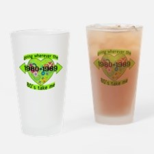 Going With The 80's Pint Glass