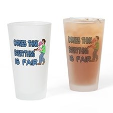 Carnies Think Pint Glass