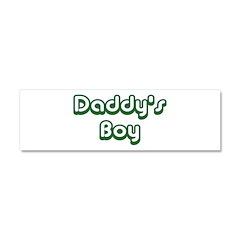 Daddy's Boy Car Magnet 10 x 3