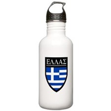 Greece (Greek) Patch Water Bottle
