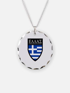 Greece (Greek) Patch Necklace