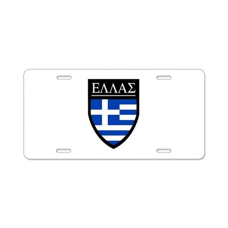 Greece (Greek) Patch Aluminum License Plate