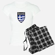 Greece (Greek) Patch Pajamas