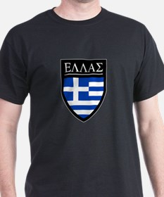 Greece (Greek) Patch T-Shirt