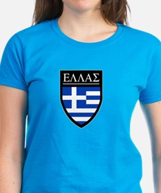 Greece (Greek) Patch Tee