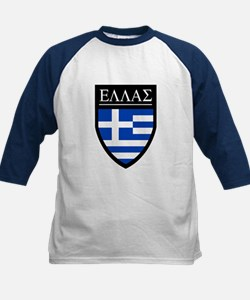 Greece (Greek) Patch Kids Baseball Jersey