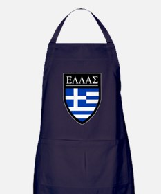 Greece (Greek) Patch Apron (dark)
