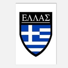 Greece (Greek) Patch Postcards (Package of 8)