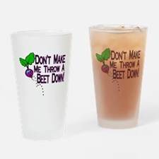 Beet Down Pint Glass