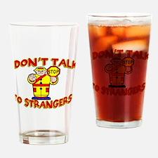 Stranger Danger Pint Glass