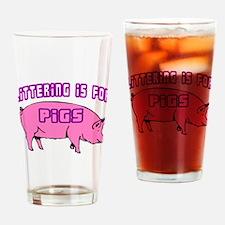Littering Pigs Pint Glass