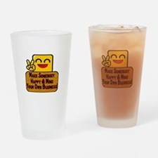 Mind Your Business Pint Glass