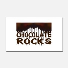 Chocolate Rocks Car Magnet 12 x 20