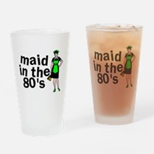 Maid In The 80's Pint Glass