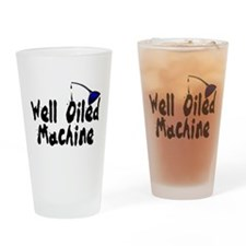 Oiled Machine Pint Glass