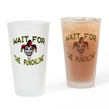 Joker Pint Glass
